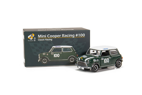 Tiny City Die-cast Model Car – Mini Cooper Racing #100
