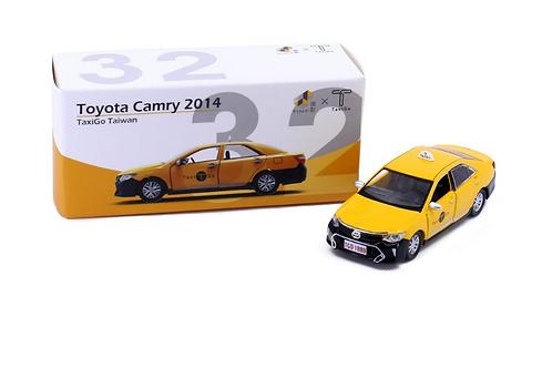Tiny City Die-cast Model Car - Toyota Camry 2014 TaxiGo Taiwan TW32
