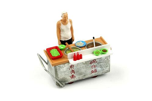 Tiny City Die-cast Model  – 1/35 HK Fake Shark's Fin Soup Cartful