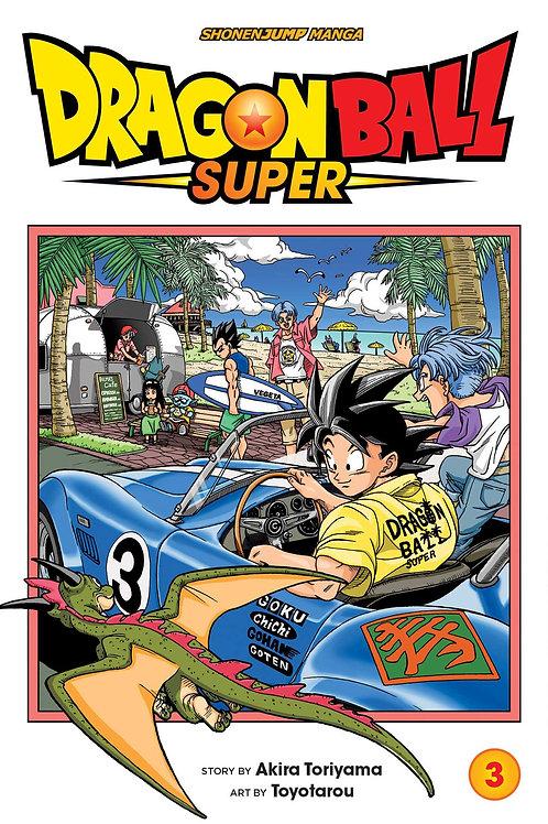 Dragon Ball Super, Vol. 3 by Akira Toriyama