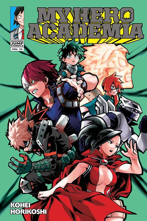 My Hero Academia, Vol. 22 by Kohei Horikoshi