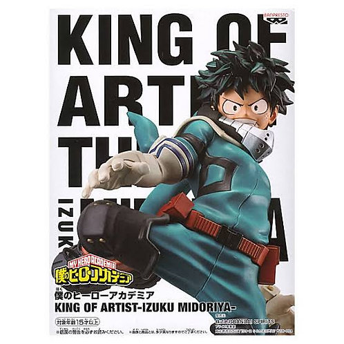 MY HERO ACADEMIA - KING OF ARTIST - IZUKU MIDORIYA