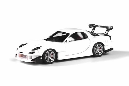 YM Model Car - Mazda RX-7 (FD3S) Re-Amemiya - White