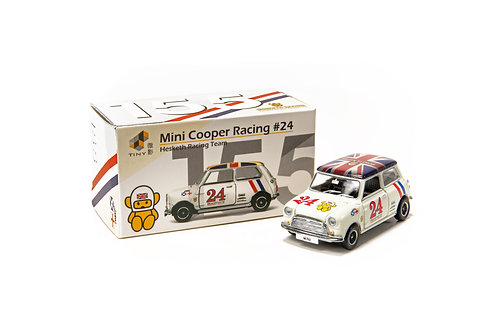Tiny City Die-cast Model Car – Mini Cooper Racing #155