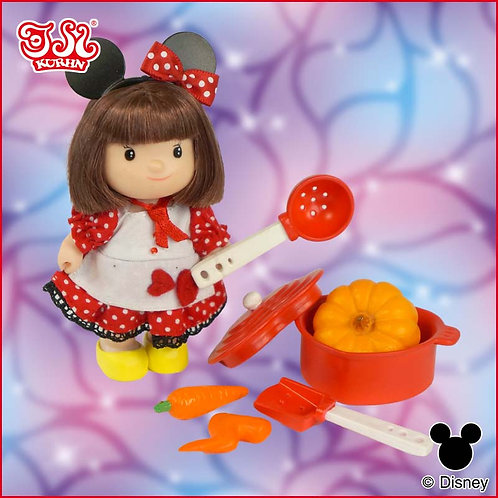 Disney Dudy Minnie with Cooking Set