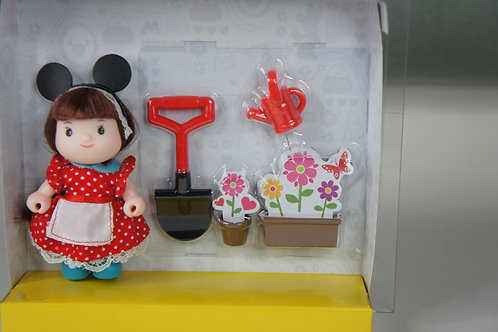 Disney Dudy Minnie with Gardening Set