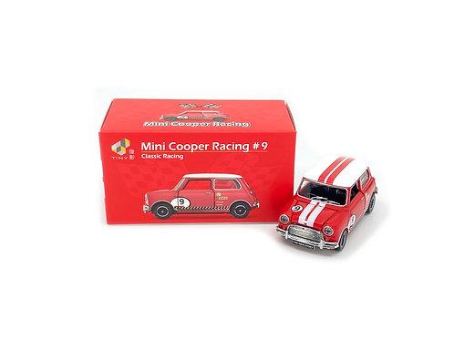 Tiny City Die-cast Model Car – Mini Cooper Racing #9