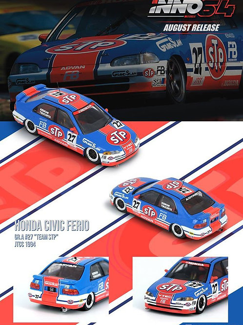 "INNO64 – HONDA CIVIC FERIO Gr.A #27 ""Team STP"" JTCC 1994"