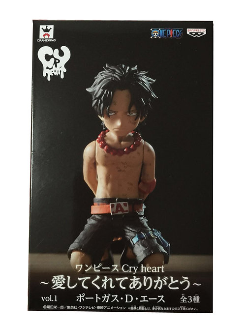 One Piece Ace Cry Heart Vol 1 Series Figure