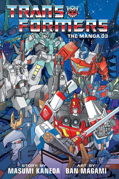 Transformers: The Manga, Vol. 3 by Masumi Kaneda