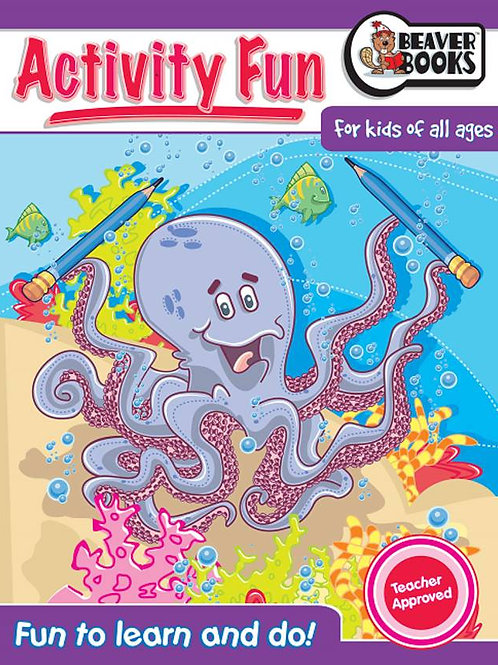 Activity Fun Book 1: Octopus