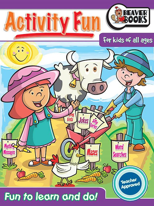 Activity Fun Book 2: Farm