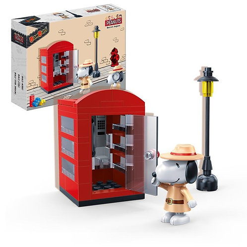 Agent Snoopy Secret Phone Booth