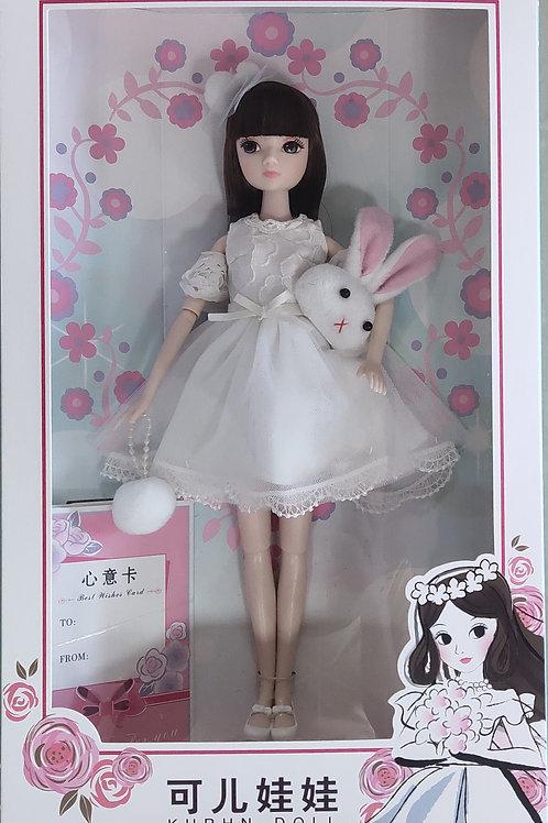 Kurhn Little Lady in White
