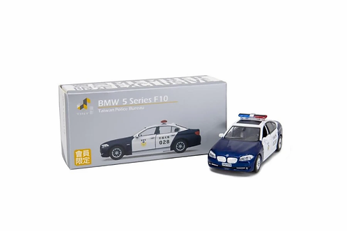 Tiny City Die-cast Model Car - BMW 5 Series F10 Taiwan Police Bureau (Exclusive)