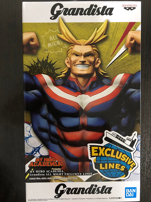 My Hero Academia - Grandista All Might Exclusive Lines