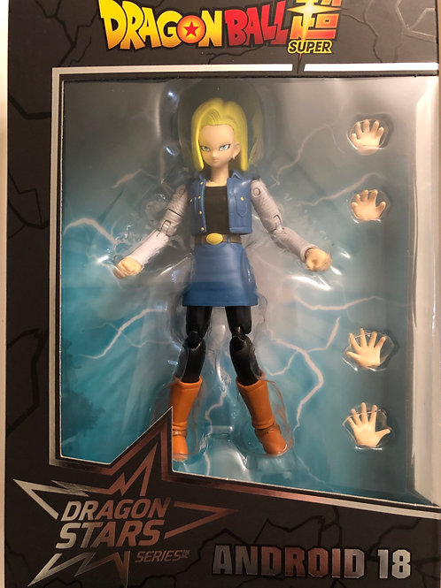 Dragon Ball Super - Android 18 Action Figure