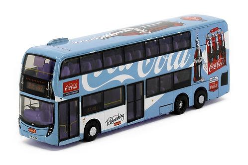 Tiny City Die-cast Model Car - Dennis E500 MMC FL 12.8M Coca-Cola (Refreshing)