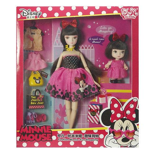 Kurhn Disney - Fashion Minnie Fun Shopping Set