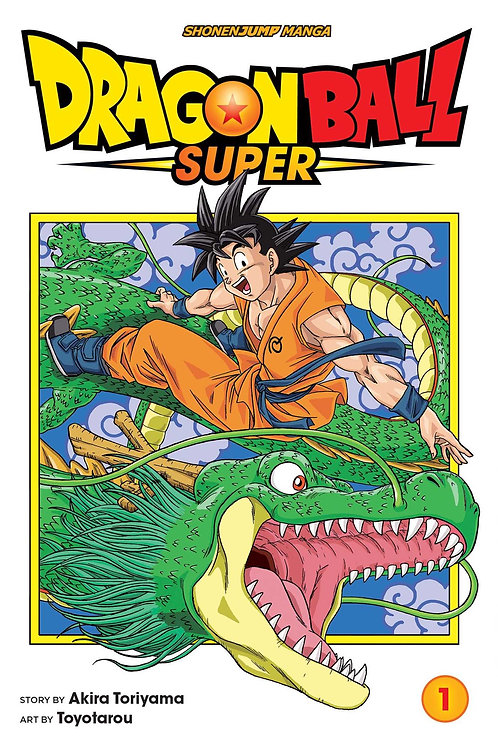 Dragon Ball Super, Vol. 1 by Akira Toriyama