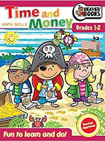 Activity Fun Book: Time and Money Grade 1 & 2