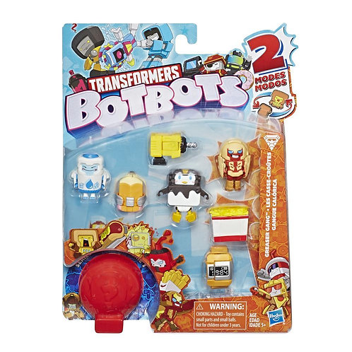 Series 1 Pack of 8 bots Greaser Gang Assorted