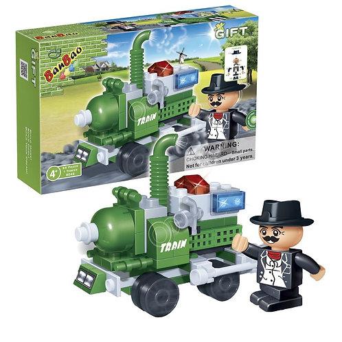 Starter Pack Steam Locomotive Train