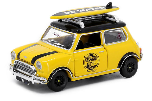 Tiny City Die-cast Model Car - Mini Cooper Mk 1 Bruce Lee Edition