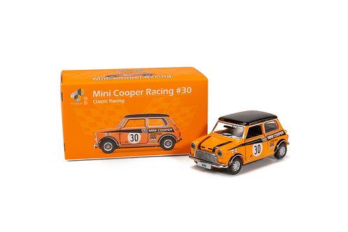 Tiny City Die-cast Model Car – Mini Cooper Racing #30