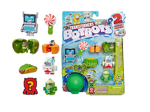 Series 2 Pack of 8 bots Spoiled Rottens Assorted