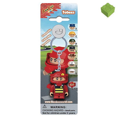 Fire Fighter Tobee Key Ring