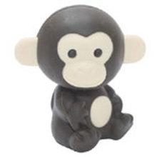 Iwako Monkey (Dark Brown)