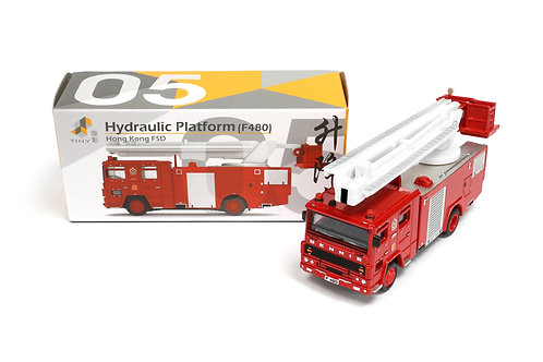 Tiny City Die-cast – Fire Services Hydraulic Platform (F480) #05