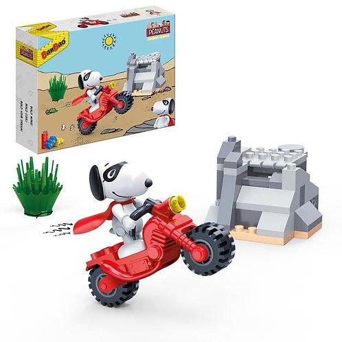Snoopy Motorbike Stunt Marvel