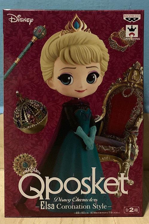 Elsa Coronation Style Qposket Figure Ver. A Color