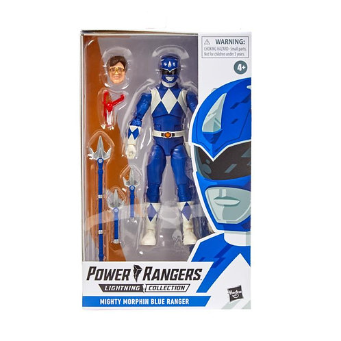 Power Rangers Lightning Collection - Mighty Morphin Blue Ranger