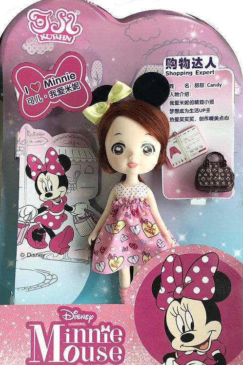 Kurhn Disney Minnie Mini - Shopping Expert doll