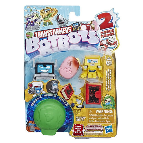 Series 2 Pack of 5 bots Backpack Bunch Assorted