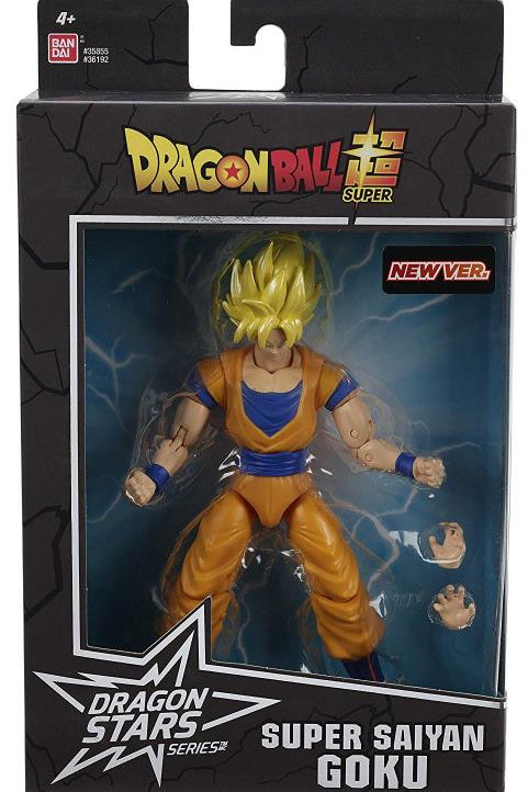 Dragon Ball Super - Super Saiyan Goku New Ver. Action Figure