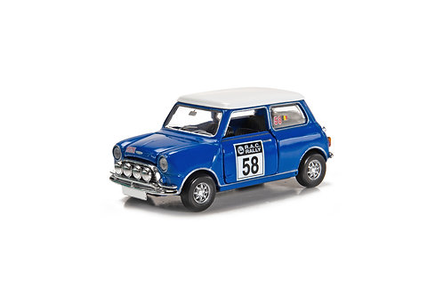 Tiny City Die-cast Model Car – Mini Cooper Racing #58