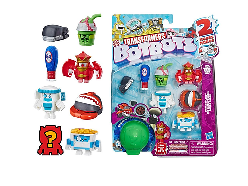 Series 2 Pack of 8 bots Swag Stylers Assorted