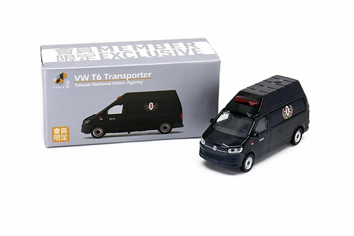 Tiny City Die-cast Car - VW T6 Transporter Taiwan Police Agency (Exclusive)