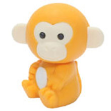 Iwako Monkey (Yellow)