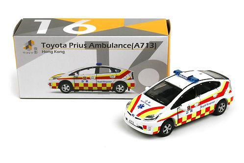 Tiny City Die-cast – Toyota Prius Ambulance RRV (A713) #16
