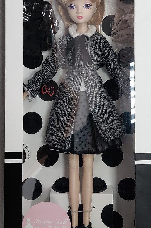Kurhn Fashion Style Studio Series - Winter Studio stylish dress doll