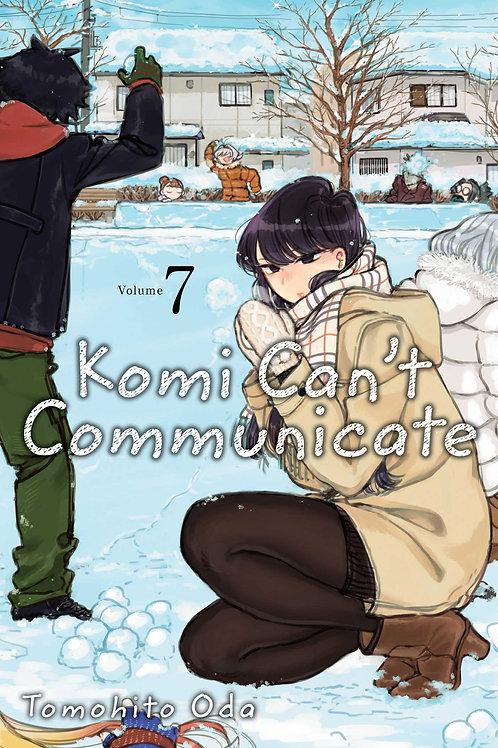 Komi Can't Communicate, Vol. 7 by Tomohito Oda