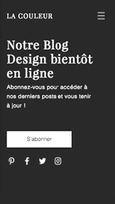 Trouvez votre Template website templates – Blog à venir
