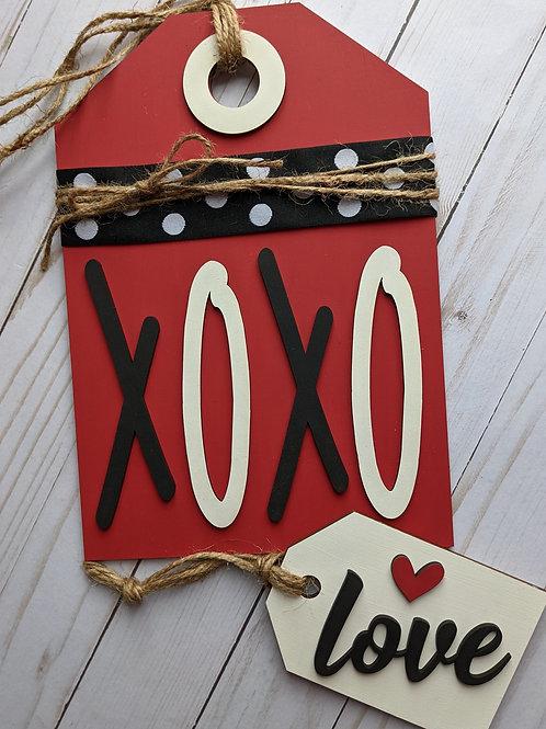 Valentine tags - DIY kit