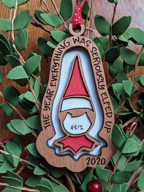 2020 Elf Ornament