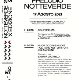 Preludio alla Notte Verde - X edizione con Sabrina Lucatelli